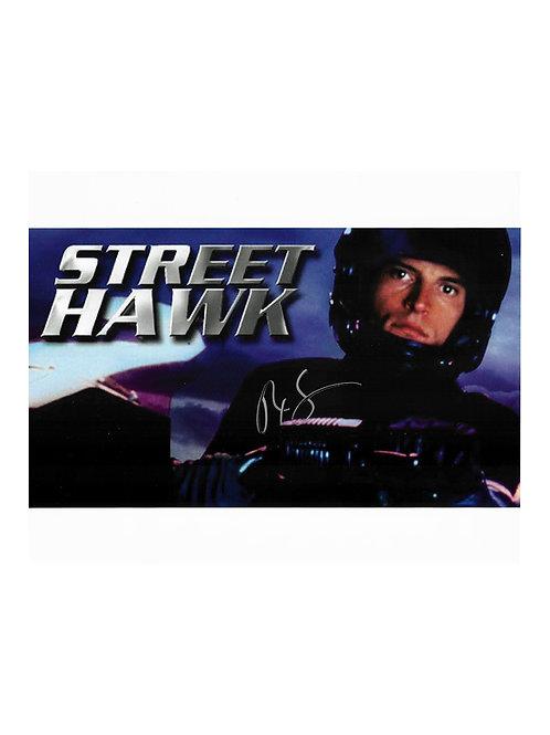 10x8 Streethawk Print Signed by Rex Smith