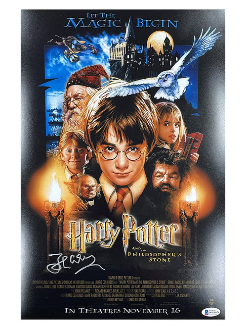 11x17 Harry Potter Poster Signed by John Cleese