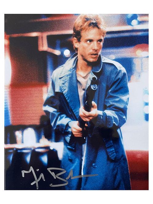 8x10 The Terminator Print Signed by Michael Biehn