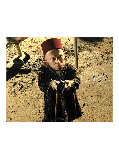10x8 Dr Parnassus Print Signed by Verne Troyer