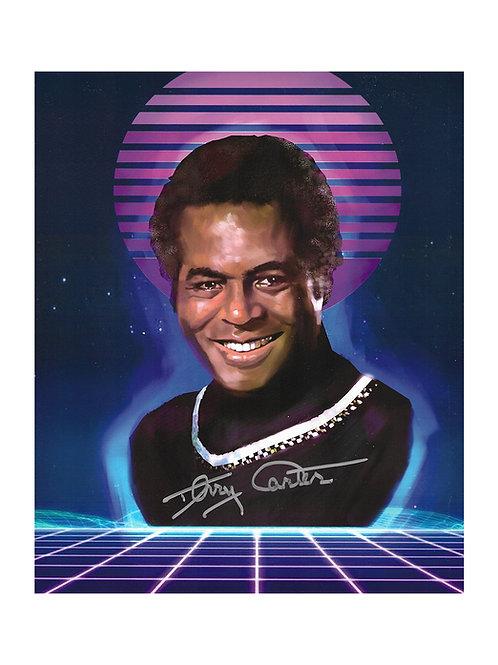 8x10 Battlestar Galactica Print Signed by Terry Carter
