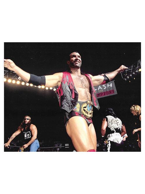 "10x8"" Unsigned WWE WWF Superstar Razor Ramon Scott Hall Print"