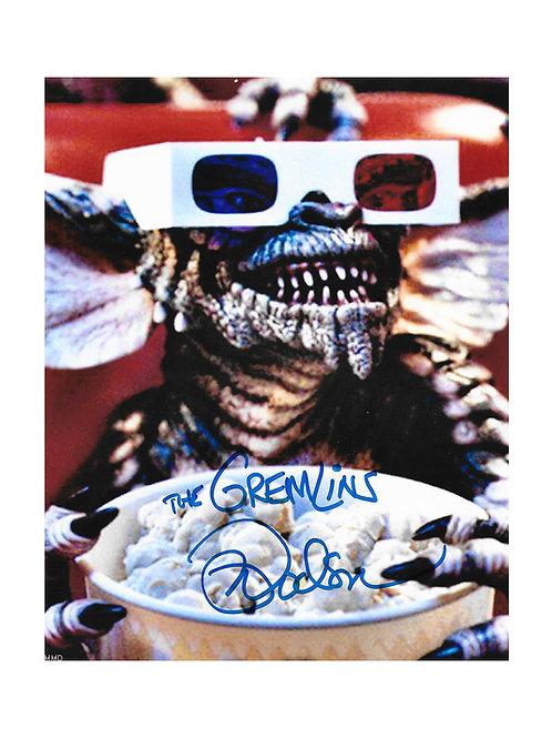 8x10 Gremlins Print Signed by Mark Dodson