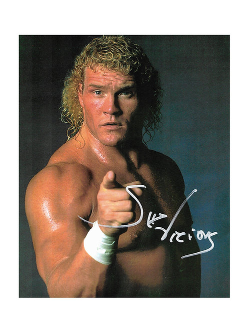 8x10 Print Signed by Wrestling Superstar Sid Vicious