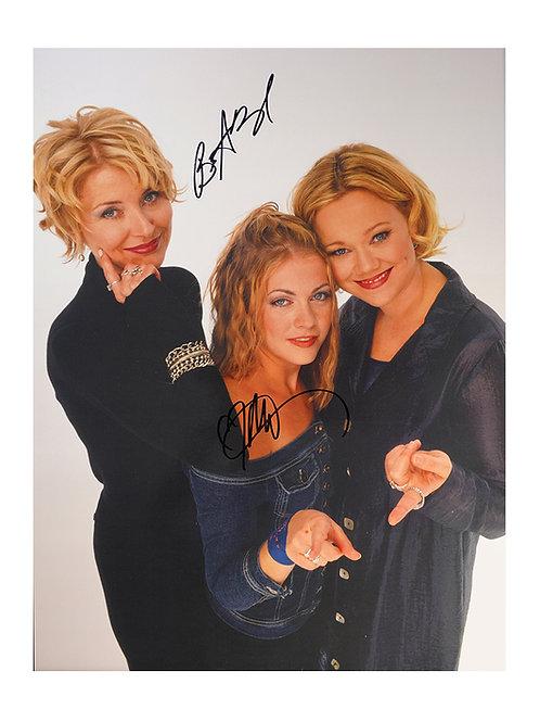 12x16 Sabrina Print Signed By Melissa Joan Hart & Beth Broderick