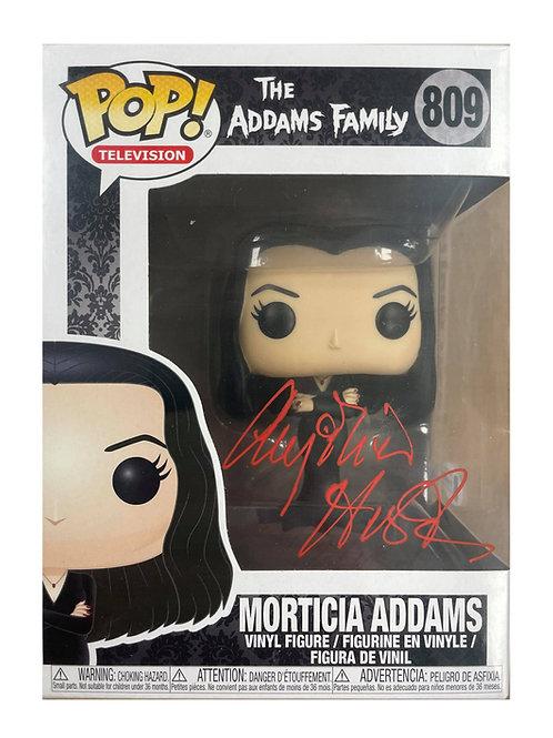 Morticia Addams Funko Pop 809 Signed by Anjelica Huston