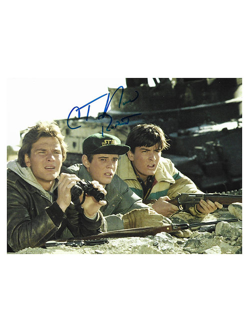 10x8 Red Dawn Print Signed by C. Thomas Howell