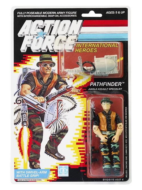 Action Force GI Joe Pathfinder Jungle Assault Specialist MOC Carded Custom