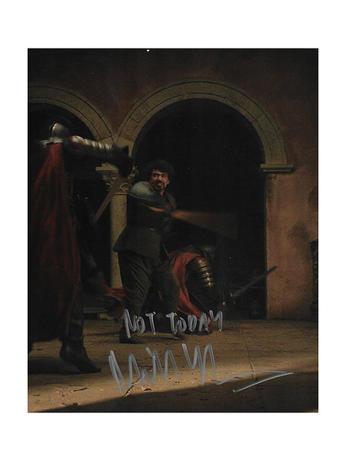 8x10 Game of Thrones Print Signed by Miltos Yerolemou