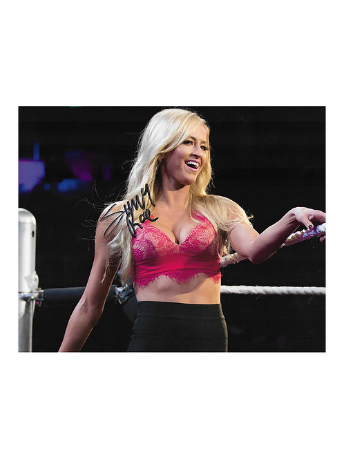 10x8 Print Signed by Wrestling Superstar Summer Rae