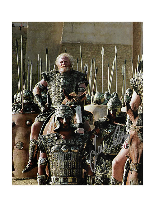 8x10 Troy Print Signed by James Cosmo