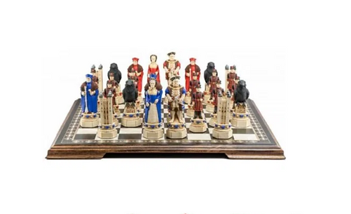 Studio Anne Carlton Tower Of London Handpainted Chess Set Pieces