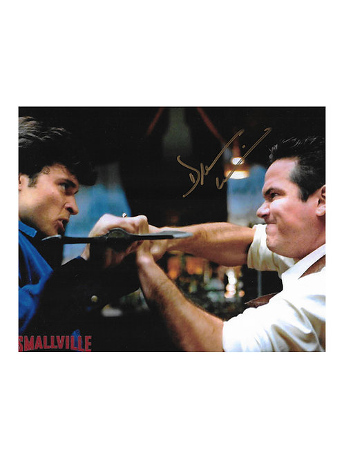 10x8 Smallville Print Signed by Dean Cain