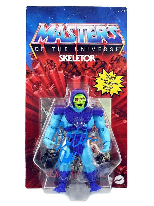 Vintage Mattel Skeletor Action Figure Signed By Alan Oppenheimer