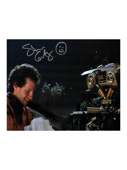 10x8 Short Circuit Print Signed by Steve Guttenberg