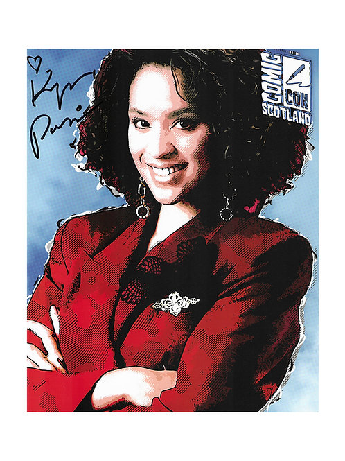 8x10 Fresh Prince of Bel-Air Print Signed by Karyn Parsons