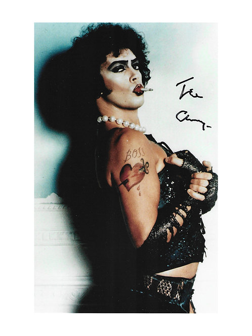 7x12 Rocky Horror Print Signed by Tim Curry