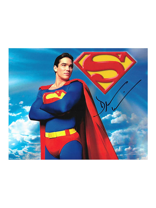 10x8 Superman Print Signed by Dean Cain