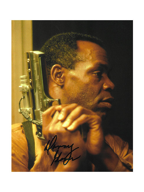 8x10 Predator 2 Print Signed by Danny Glover