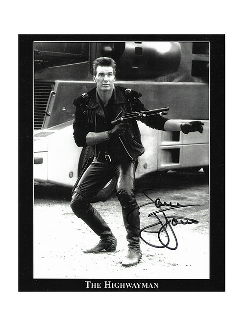 8x10 The Highwayman Print Signed by Sam J Jones