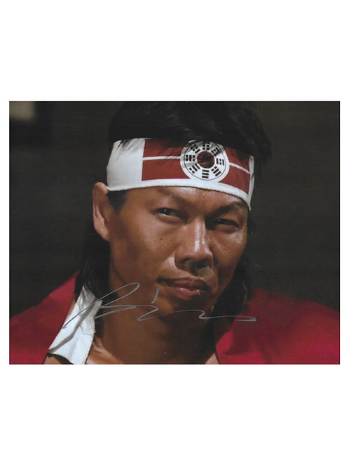 10x8 Bloodsport Print Signed by Bolo Yeung