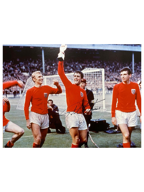 16x12 1966 World Cup Print Signed By Sir Geoff Hurst