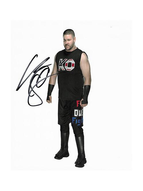 8x10 Print Signed by Wrestling Superstar Kevin Owens