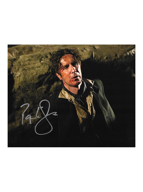 10x8 Doctor Who 8th Doctor Print Signed by Paul McGann
