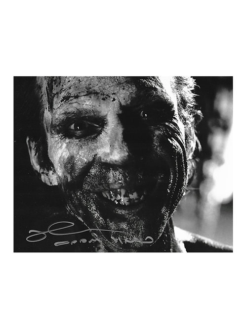 10x8 31 Doom-Head Print Signed by Richard Brake