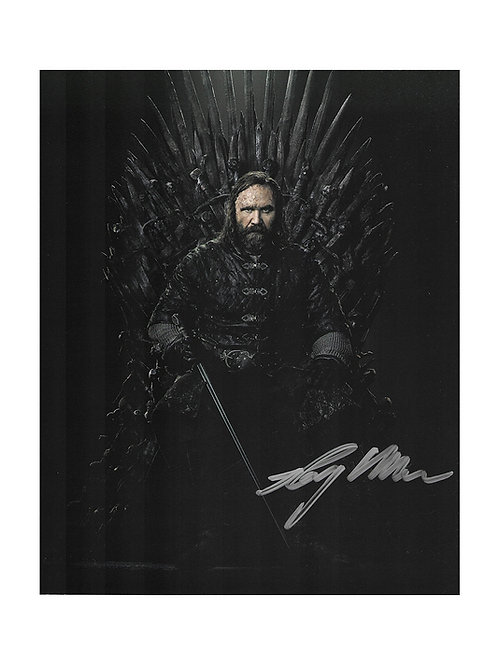 8x10 Game of Thrones Print Signed by Rory McCann
