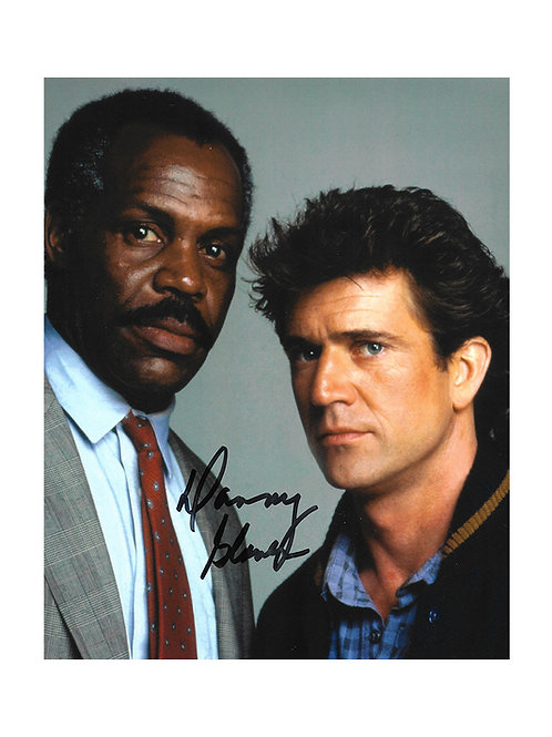8x10 Lethal Weapon 3 Print Signed by Danny Glover