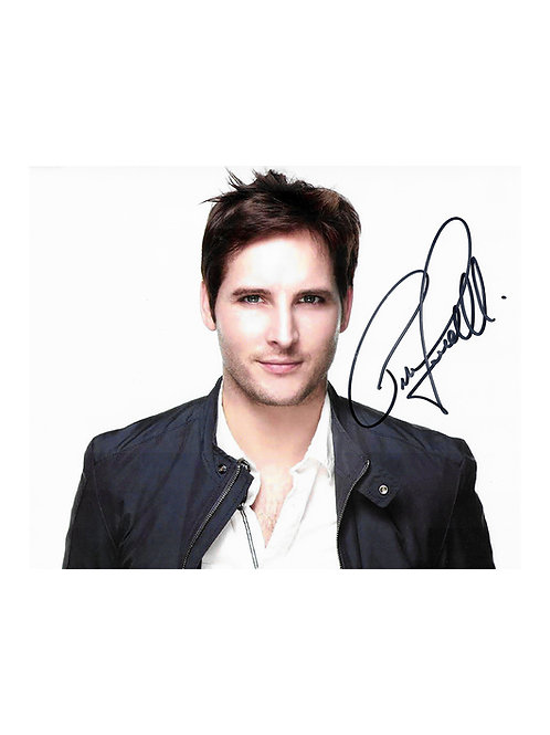 10x8 Print Signed by Peter Facinelli