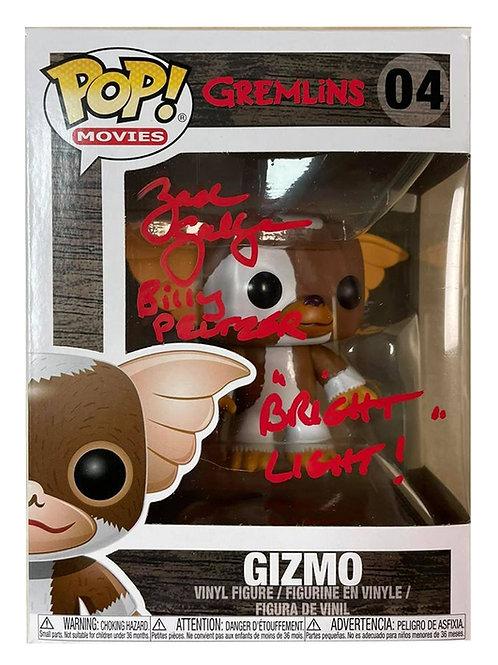 Gremlins Gizmo Funko Pop Signed by Zach Galligan