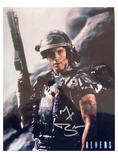 10x13 Aliens Print Signed by Michael Biehn
