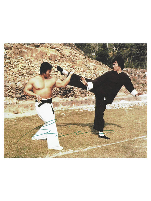 10x8 Enter The Dragon Print Signed by Bolo Yeung