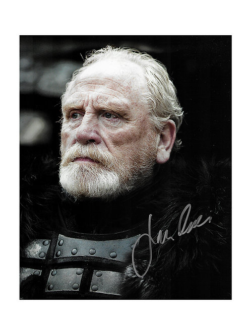 8x10 Game of Thrones Print Signed by James Cosmo