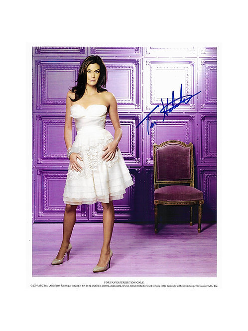 8x10 Print Signed by Teri Hatcher