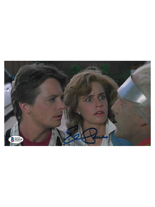 10x6 Back to the Future Print Signed by Elisabeth Shue