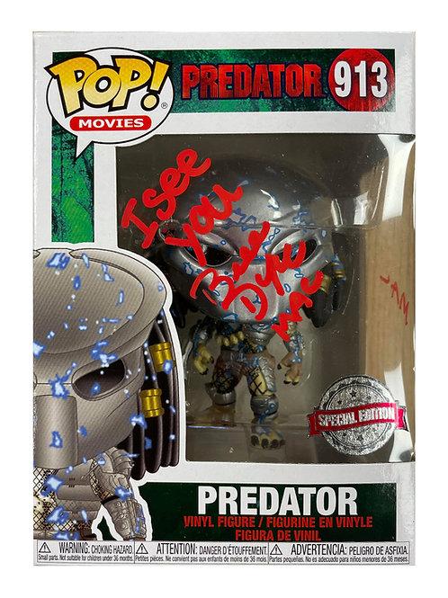 Predator Funko Pop #913 Signed by Bill Duke