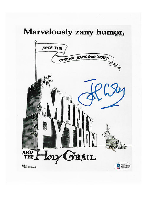 8x10 Monty Python and the Holy Grail Print Signed by John Cleese