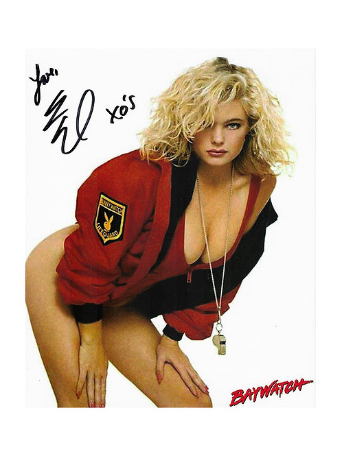 8x10 Baywatch Print Signed by Erika Eleniak