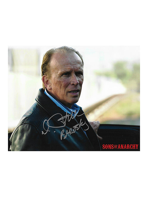 10x8 Sons of Anarchy Print Signed by Peter Weller