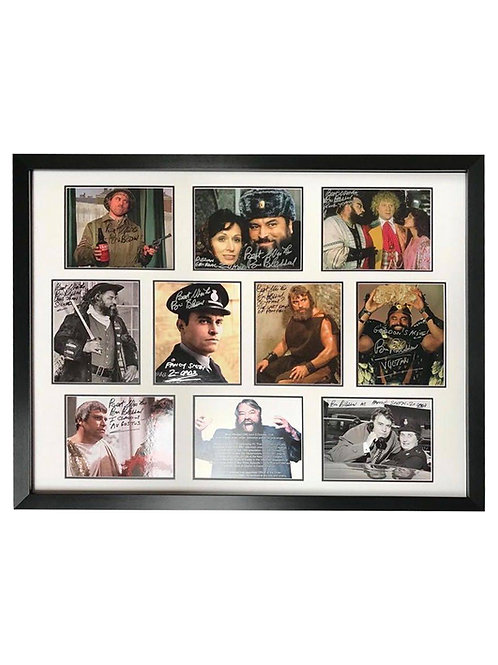 Framed Multi Print Collage Signed by Brian Blessed