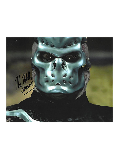 10x8 Jason X Print Signed by Kane Hodder