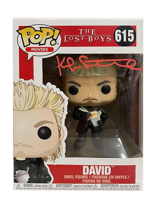 Noodles David Lost Boys Funko Pop Signed by Kiefer Sutherland