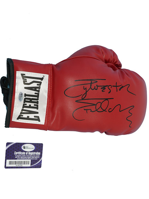 Everlast Boxing Glove Signed by Sylvester Stallone