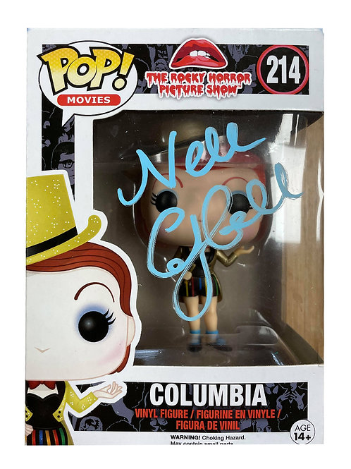 Rocky Horror Picture Show Columbia Funko Pop Signed by Nell Campbell