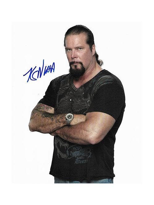 8x10 Print Signed by Wrestling Superstar Kevin Nash aka Diesel