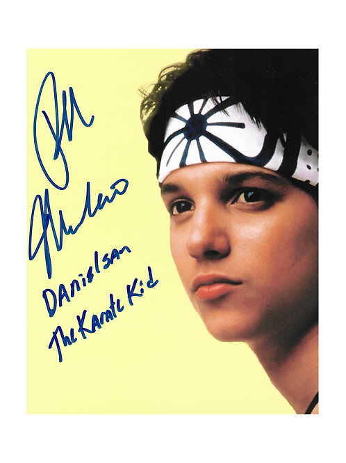 8x10 Karate Kid Print Signed by Ralph Macchio