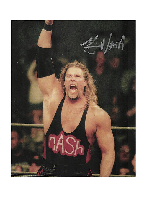 8x10 Print Signed by Wrestling Superstar Kevin Nash aka Diesel